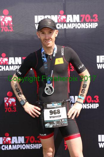 IRONMAN 70.3 World Champs - Stephen Hogarth